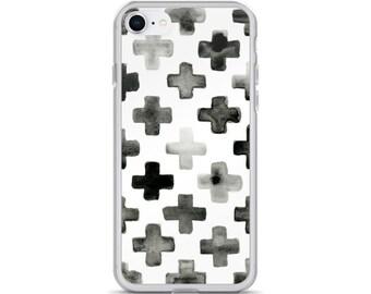 Geometric Print iPhone Case
