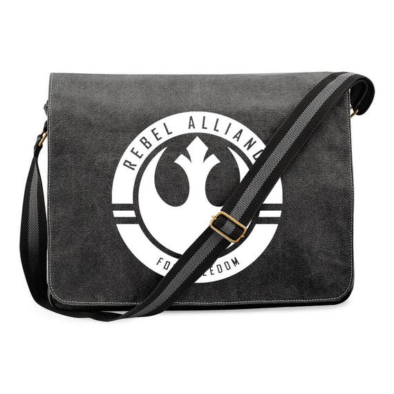 Custom Geeky Star Wars Inspired Rebel Alliance Canvas Dispatch Bag Messenger bags Etsy