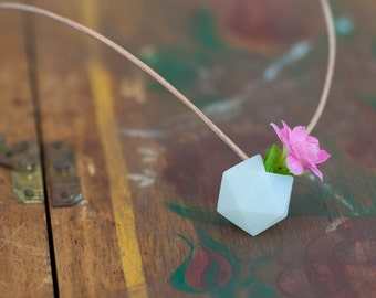 A Miniature Wearable Planter, Icosahedron