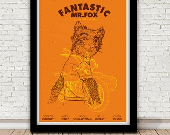 Fantastic Mr. Fox poster - Wes Anderson - 2010