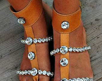 Women Sandals, Wedding Sandals, Handmade  Sandals,  Bridal Sandals, Greek Leather Sandals, Swarovski Sandals, Genuine leather shoes