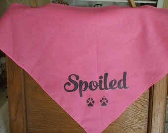 Dog Bandanna Large