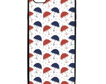 Umbrella Print Pattern Phone Case Samsung Galaxy S5 S6 S7 S8 S9 Note Edge iPhone 4 4S 5 5S 5C 6 6S 7 7S 8 8S X SE Plus