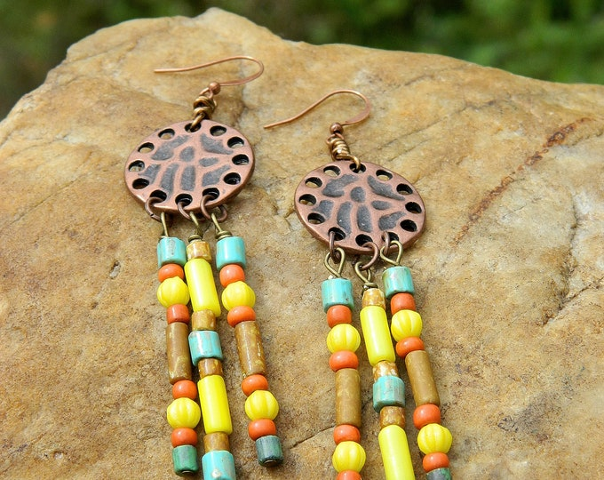Featured listing image: Chandelier Boho Earrings