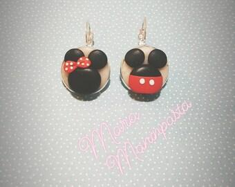 Orecchini Mickey Mouse e Minnie