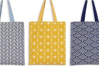 Tote Bag- Reversible