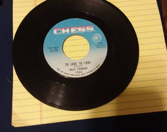 Billy Stewart Chess label 45 Vinyl Record