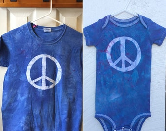 Mommy and Me Peace Sign Shirts, Mommy and Me Outfits, Matching Mom and Kid Shirts, Mother's Day Gift, Matching Mom and Baby Shirts
