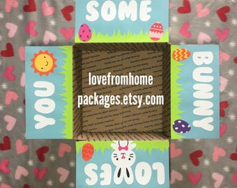 Easter Care Package Flaps Kit