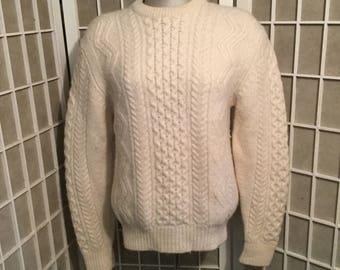 1980s Lord &Taylor Classic Worsted Wool Sweater