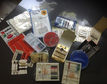 Sewing kits and needle cases - complementary, souvenir, traveling, miniature - grabbag