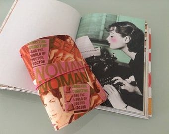 Tinadori woman power  - fauxdori - traveler's notebook - a6 size