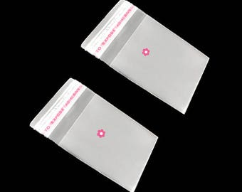 x 200 cello bag sticker 4x6cm (23 (A)