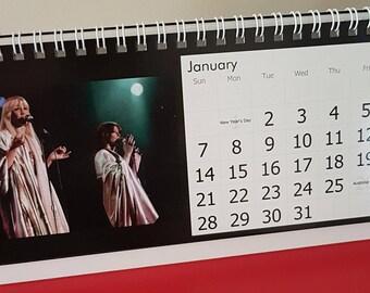 ABBA 2018 Desk Calendar - Brand New