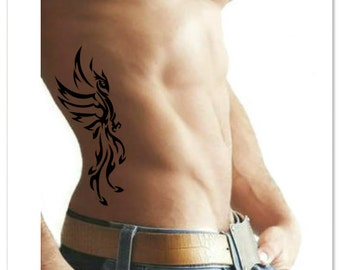 Temporary Tattoo Tribal Phoenix Fake Tattoo
