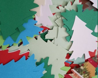 Christmas Trees Paper Punches