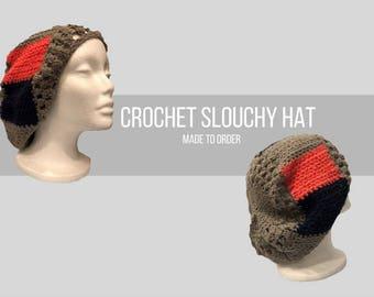 Crochet Slouchy Hat