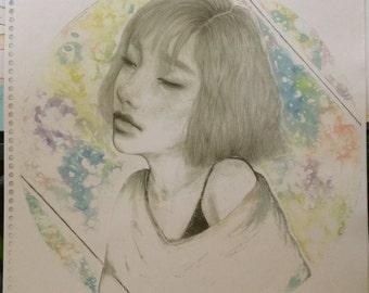 Taeyeon / Rain - small print