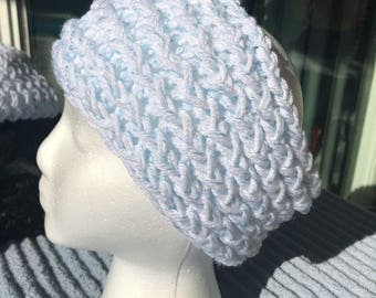 Handmade Knitted Headband/ Ear Warmer - Item #4009