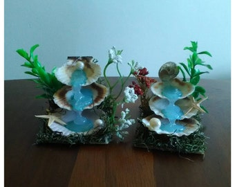 Mini Sea Shell waterfall