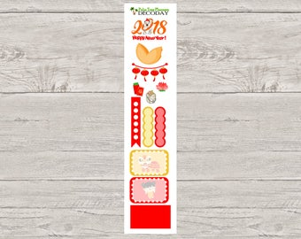 DECODAYS Chinese New Year Planner Stickers
