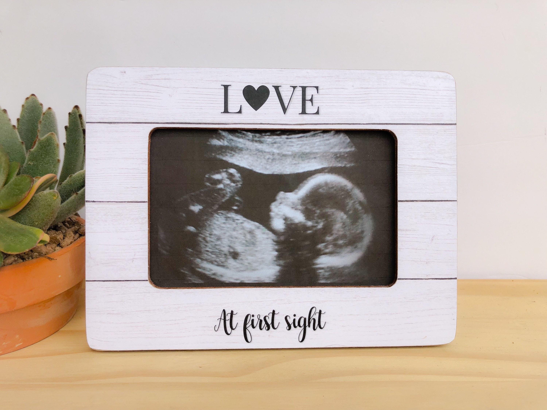 Personalized Ultrasound Frame Sonogram Frame Baby Shower Gift