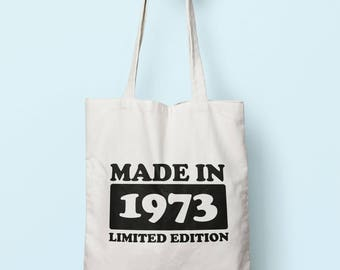 Made In 1973 Limited Edition Tote Bag Long Handles TB1736