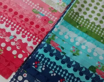 SALE GOOSEBERRY Lella Boutique Vanessa Goertzen Moda Fabrics Cotton Quilting Fabrics 19 fat quarters bundle