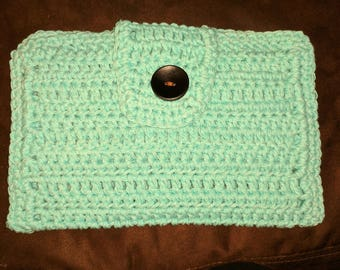 Crochet Diapers and Wipes Case