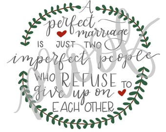 A perfect marriage... 8x10 print