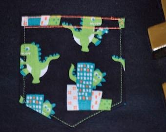 City Dino Pocket Tee
