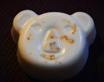 Koala Bear Honey-Vanilla-Oat Soap Bar