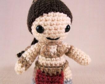 Slave Leia - Star Wars Mini Amigurumi Pattern PDF - Crochet Pattern