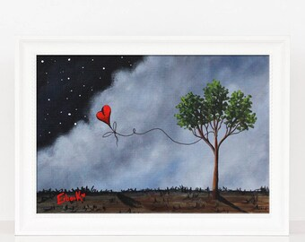 When You Left ii - Landscape Art - Dreamy Art - Fantasy Dreamy - Archival Giclee Prints - Signed by Artist - LAST ONE FOREVER
