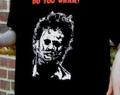 Texas Chainsaw Massacre, Leatherface tribute shirt