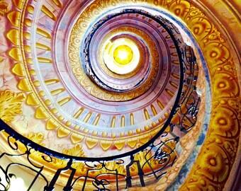 Schonbrunn Palace Vienna, Austria Spiral Staircase