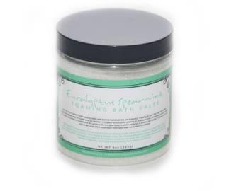Eucalyptus Spearmint Foaming Bath Salt 8 oz