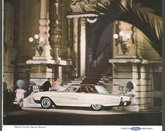 1963 Ford Thunderbird Limited Edition Landau ~ Original Ad