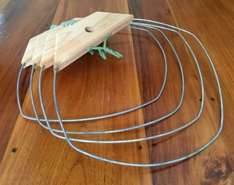 Tomato and Plant Support System (set of 4 rings)