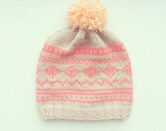Liljas beanie - Knitting pattern