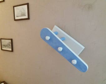 Recycled jeannette - away item - wooden coat rack