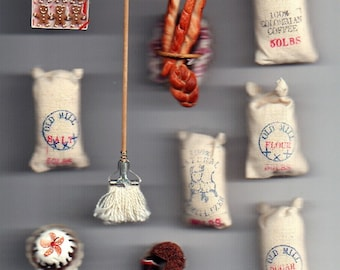 Dollhouse Miniature Bakery items