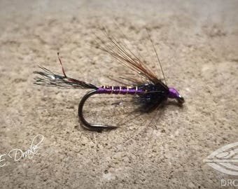 Purple and Gold Cruncher - Fly Fishing Flies