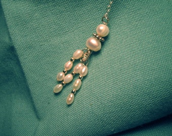 Pearl Pendant on Sterling Silver Chain