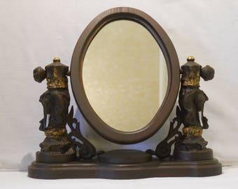 Handmade wooden Mirror