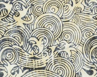 LAST YARD - Timeless Treasures - Tonga Batik - Hokusai's Waves