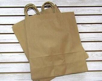 16 X 19 Kraft Paper Bags - 20 Pcs