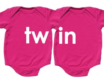 Twin Baby Shower Gift, TWIN,Twin Girls, Girl Twins, sizes from 0 to 12 months, Twin Gifts