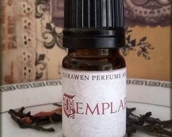 TEMPLAR Spice & Sandalwood Fragrance Perfume Oil / Medieval fantasy inspired / Vegan Fragrance