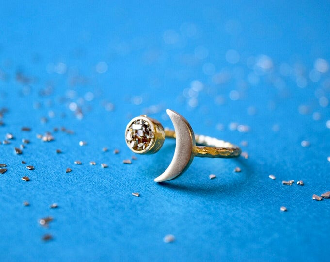 Featured listing image: Moon and Stardust Ring